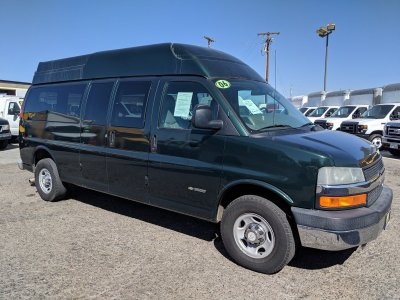 2006 Chevrolet Express 3500 High Roof Camper Ready Cargo Van in Fountain Valley, CA
