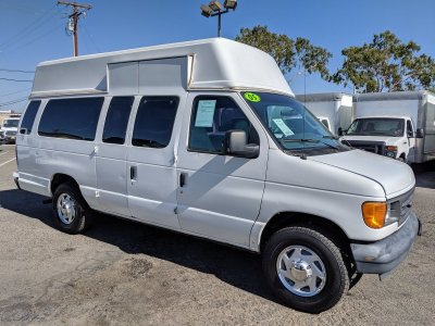 2005 Ford E-250 Extended High Roof Camper Ready Cargo Van in Fountain Valley, CA
