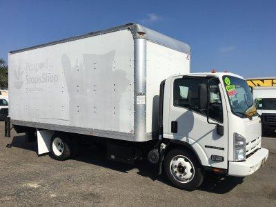 2013 Isuzu NQR 18ft Box Truck with Liftgate DIESEL