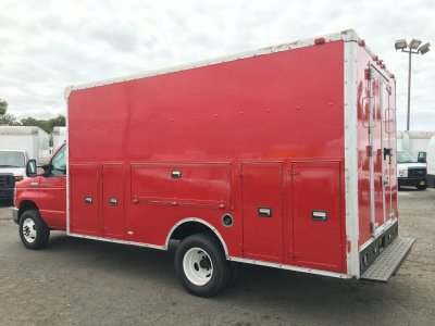2014 Ford E-450 Box Plumber Truck in Fountain Valley, CA