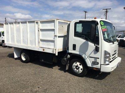 2016 Isuzu NPR HD 14ft Dump Truck DIESEL