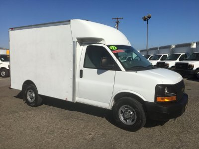 2013 Chevrolet Express 3500 10ft Box Truck in Fountain Valley, CA