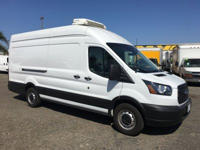 2019 Ford Transit-250 Extended Long Refrigeration Reefer High Roof Cargo Van XL