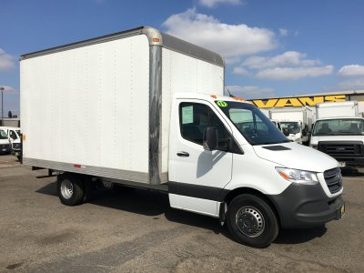 2019 Mercedes-Benz Sprinter 3500 14FT Box Truck DIESEL in Fountain Valley, CA