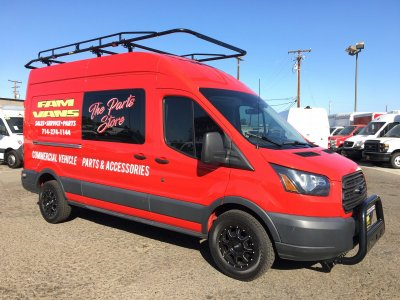 2016 Ford Transit-250 Extended High Roof Cargo Van XL in Fountain Valley, CA