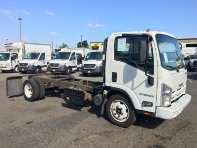 2013 Isuzu NQR Cab Chassis DIESEL in Fountain Valley, CA
