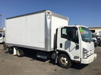 2013 Isuzu NPR HD 16FT Box Truck with Liftgate DIESEL in Fountain Valley, CA