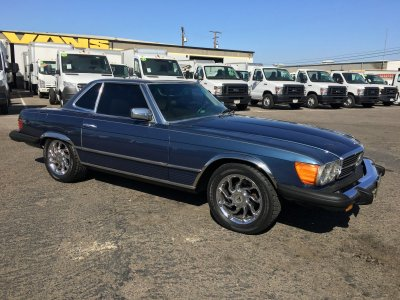 1980 Mercedes-Benz 450 SL Coupe in Fountain Valley, CA