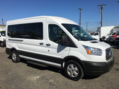 2019 Ford Transit-350 Extended Mid Roof 15 Passenger Van XL in Fountain Valley, CA
