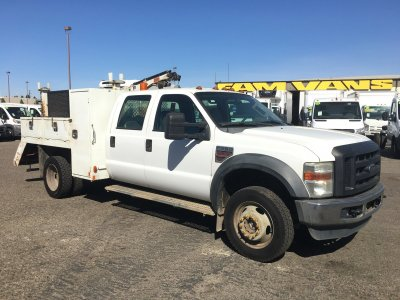 2009 Ford F-550 Boom Truck DIESEL in Fountain Valley, CA