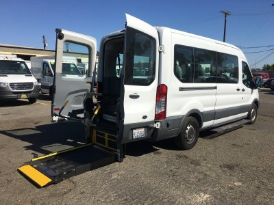 2015 Ford Transit-350 Extended Mid Roof Wheelchair Access 8 Passenger Van XL in Fountain Valley, CA
