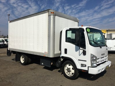 2015 Isuzu NPR XD 16FT Box Truck with Liftgate DIESEL in Fountain Valley, CA