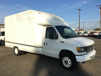 2003 Ford E-350 13FT Box Truck in Fountain Valley, CA