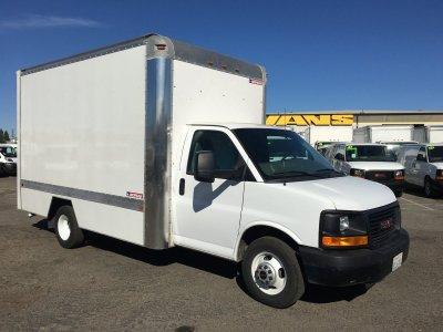 2013 GMC Savana 3500 14FT Box Truck in Fountain Valley, CA