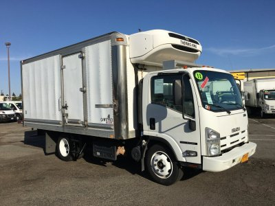 2013 Isuzu NQR 16FT Refrigeration Reefer Box Truck DIESEL in Fountain Valley, CA