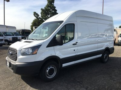 2017 Ford Transit-250 Extended High Roof Cargo Van in Fountain Valley, CA