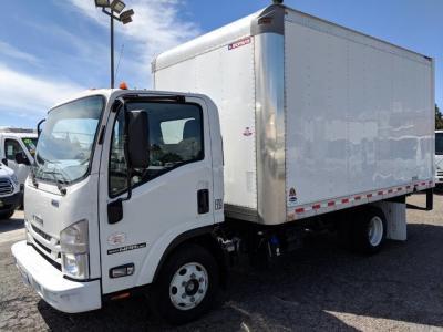 2018 Isuzu NPR HD 14ft Box Truck DIESEL in Fountain Valley, CA