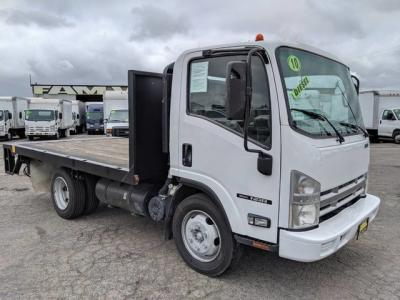 2010 Isuzu NRR Stake Bed Truck w/ Liftgate DIESEL in Fountain Valley, CA