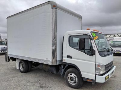 2007 Mitsubishi Fuso FE140 14FT Box Truck DIESEL in Fountain Valley, CA