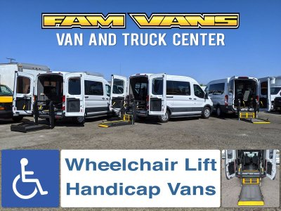 Ford Transit Wheelchair Access Handicap Vans in Fountain Valley, CA