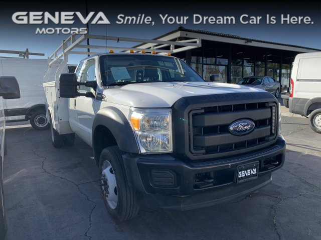 2016 Ford Super Duty F-550 DRW Utility bed Service bed
