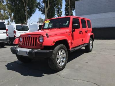 2013 Jeep Wrangler Unlimited Sahara Sport Utility 4D