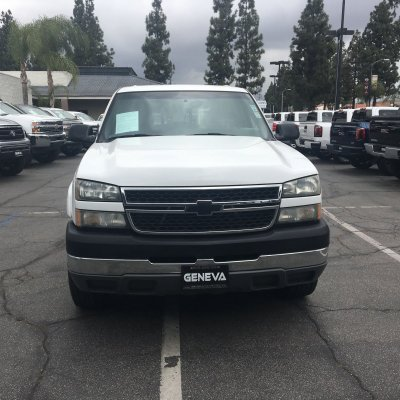 2005 Chevrolet Silverado 2500 HD Crew Cab Work Truck Pickup 4D 6 1/2 ft