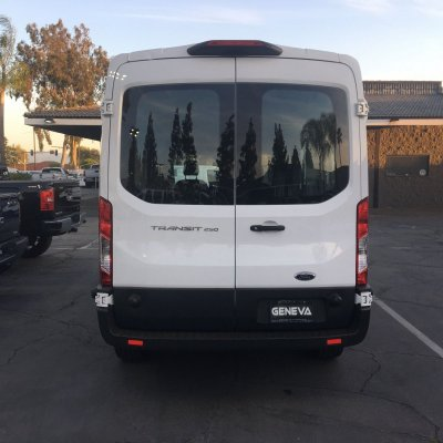 2018 Ford Transit Van Medium Roof w/Sliding Side Door w/LWB Van 3D