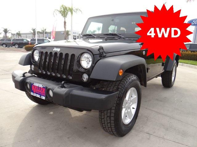 Used 2018 Jeep Wrangler JK Unlimited Sport in Hanford, CA