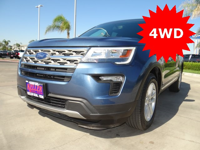 Used 2018 Ford Explorer XLT in Hanford, CA