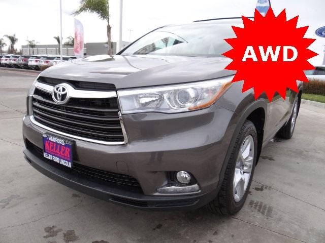 Used 2015 Toyota Highlander Limited in Hanford, CA
