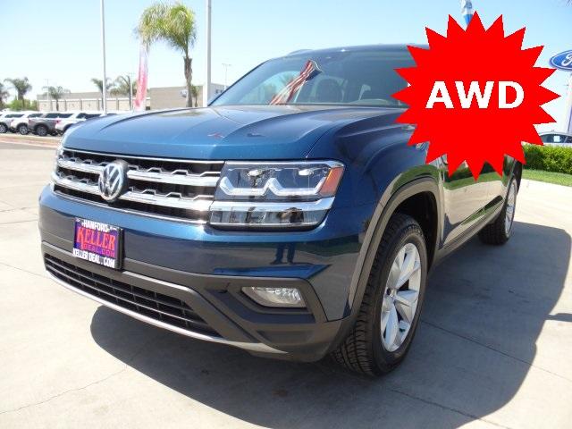 Used 2019 Volkswagen Atlas 3.6L V6 SE w/Technology in Hanford, CA
