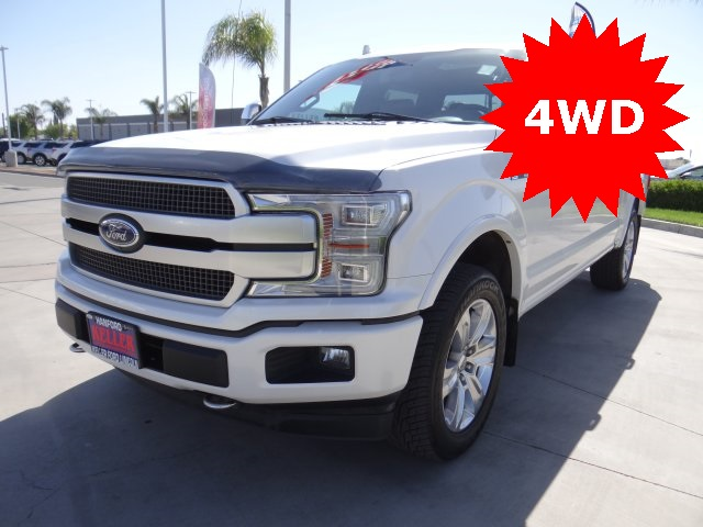 Used 2018 Ford F-150 Platinum in Hanford, CA