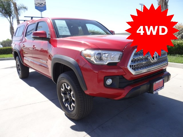 Used 2017 Toyota Tacoma TRD Sport in Hanford, CA