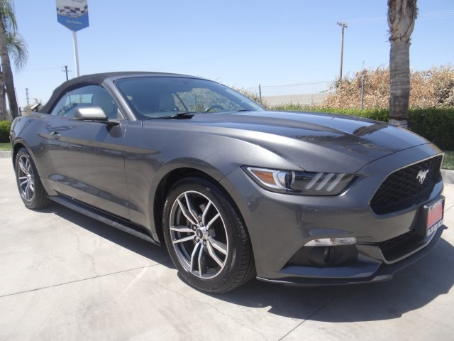 Used 2017 Ford Mustang EcoBoost Premium in Hanford, CA