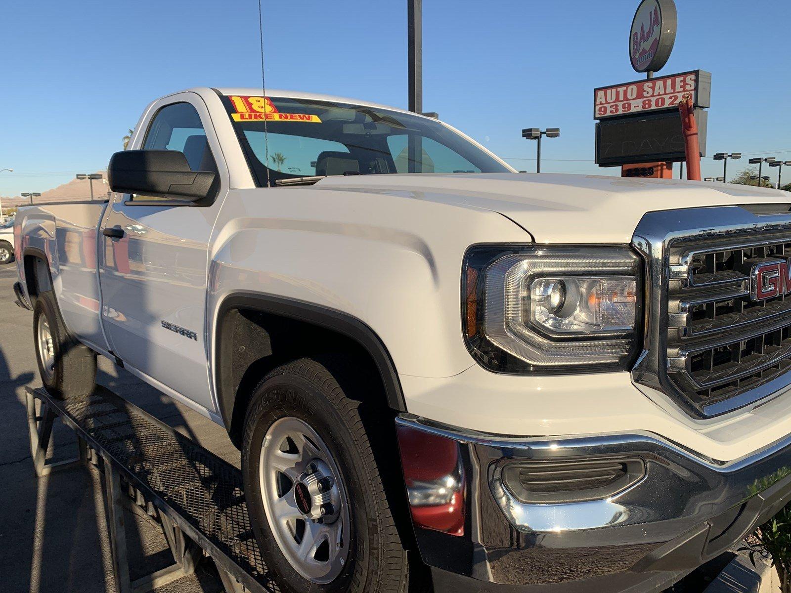 2018 GMC Sierra 1500 REG CAB 2WD 133.0 in Las Vegas, NV