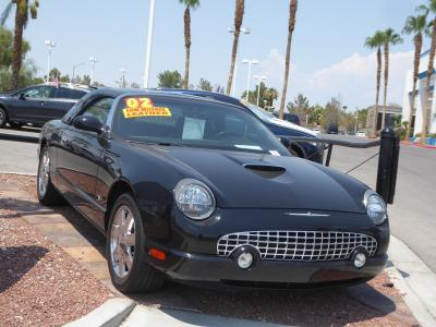 2002 Ford Thunderbird w/Hardtop Deluxe in Las Vegas, NV