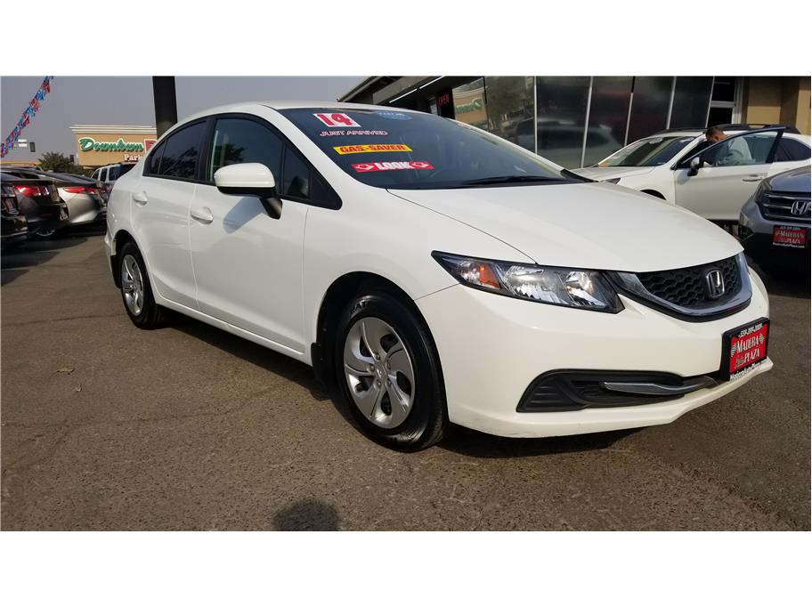 Used 2014 Honda Civic LX Sedan 4D in Madera, CA