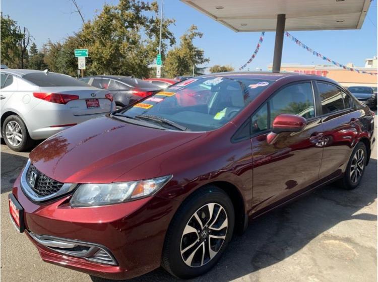 2014 Honda Civic EX Sedan 4D in Madera, CA