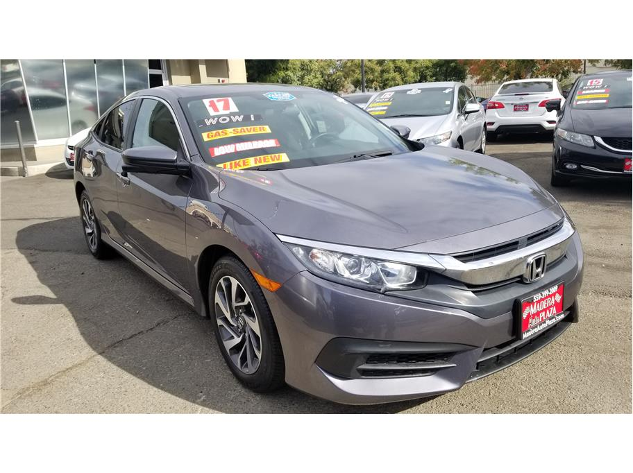 2017 Honda Civic EX Sedan 4D in Madera, CA