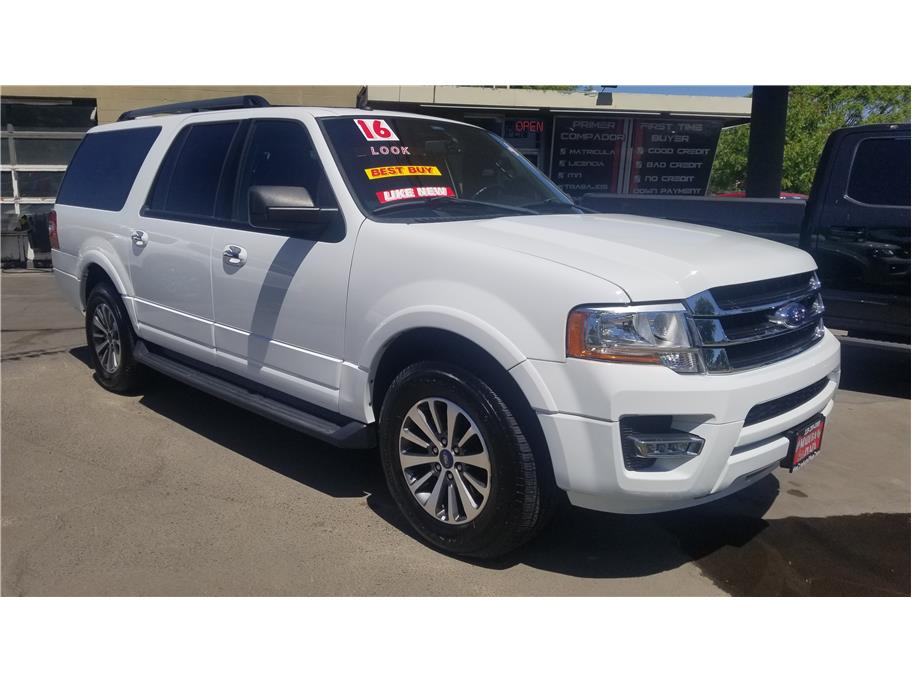 Used 2017 Ford Expedition EL XLT Sport Utility 4D in Madera, CA