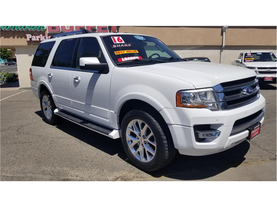 Used 2016 Ford Expedition Limited Sport Utility 4D in Madera, CA