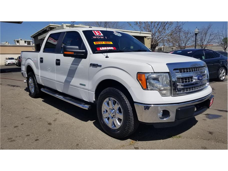 Used 2013 Ford F150 SuperCrew Cab XLT Pickup 4D 5 1/2 ft in Madera, CA