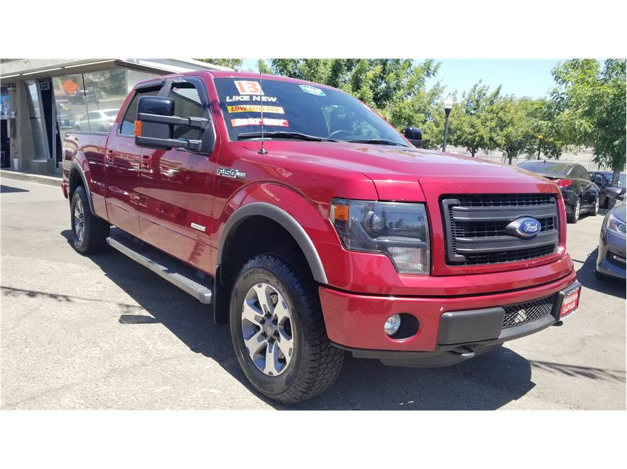 Used 2013 Ford F150 SuperCrew Cab FX4 Pickup 4D 6 1/2 ft in Madera, CA