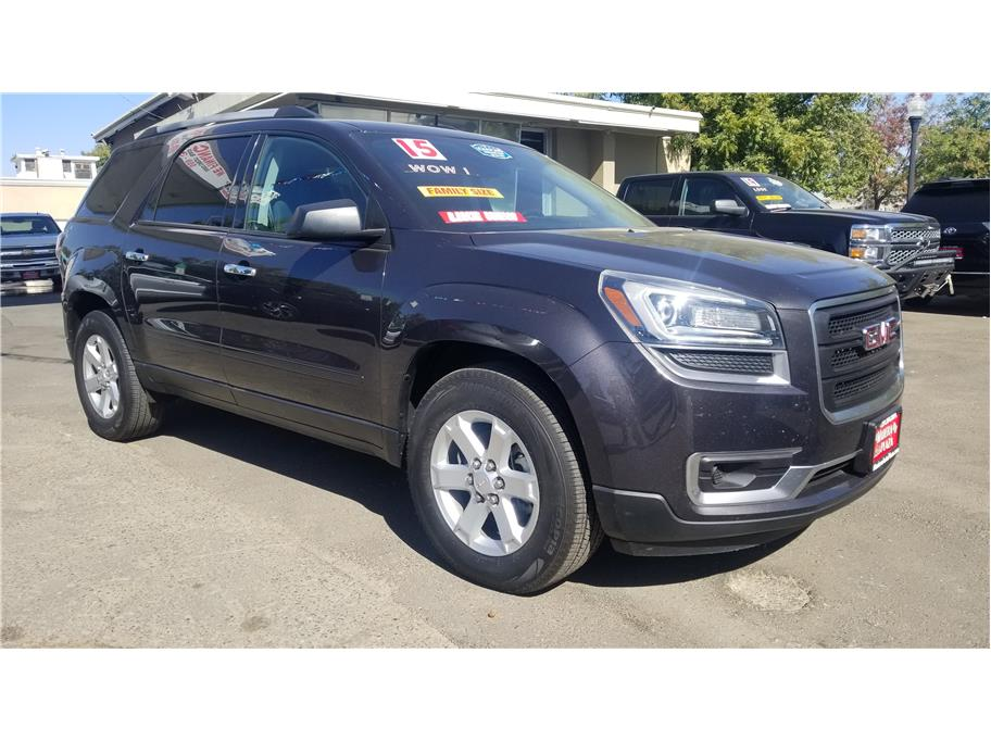 Used 2015 GMC Acadia SLE-1 Sport Utility 4D in Madera, CA