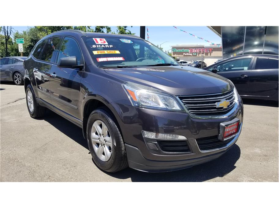 Used 2015 Chevrolet Traverse LS Sport Utility 4D in Madera, CA