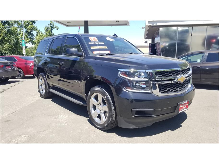 Used 2016 Chevrolet Tahoe LS Sport Utility 4D in Madera, CA