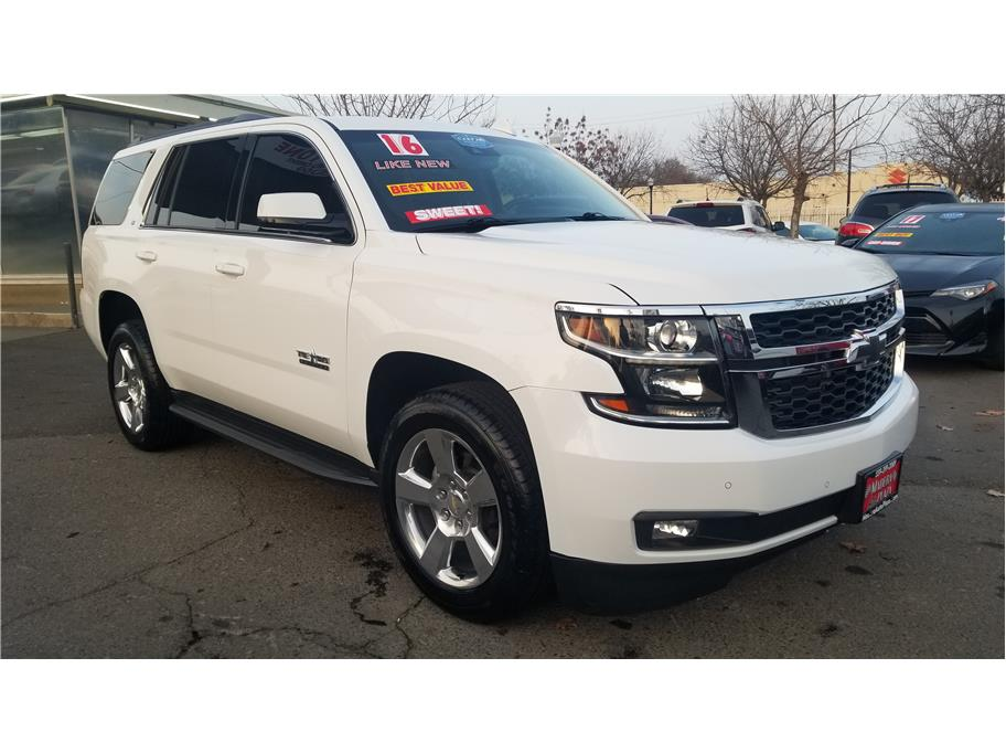 Used 2016 Chevrolet Tahoe LT Sport Utility 4D in Madera, CA