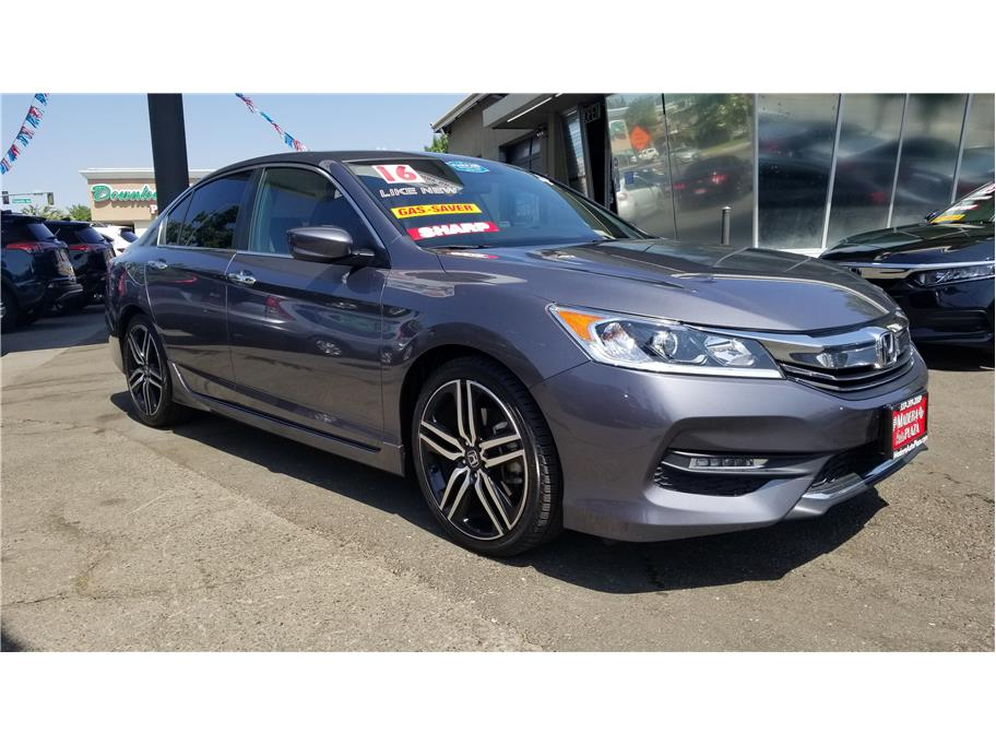 Used 2016 Honda Accord Sport Sedan 4D in Madera, CA