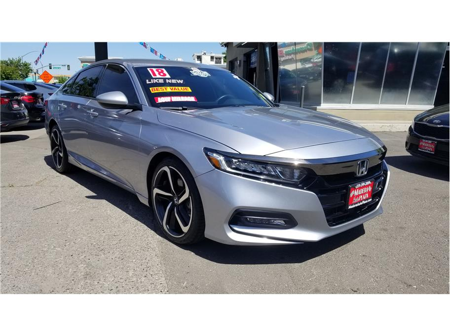 2018 Honda Accord Sport Sedan 4D in Madera, CA